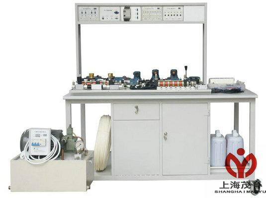 在透明液压传动演示系统的基础上,综合了液压plc控制实验设备的优点图片