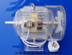 透明教学电机模型