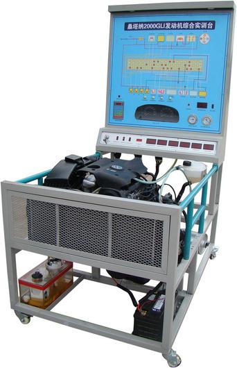 1,采用桑塔纳2000发动机总成,电控系统(闭环控制),ecu,蓄电池,起动