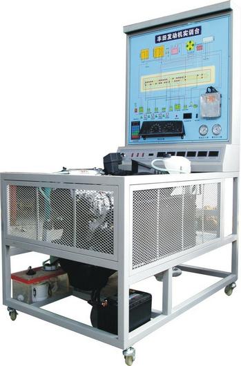 系统电路图,与电脑管脚对应的信号测量孔,真实可运行的发动机电控系统