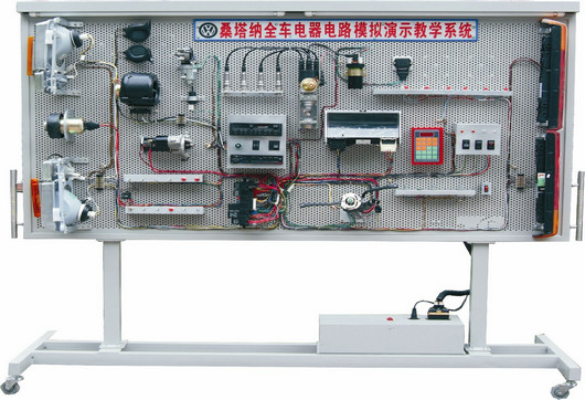 my-7025 车身电器总成实训台