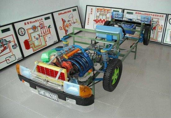 (3)发动机离合器变速箱总成(驱动部分)的安装