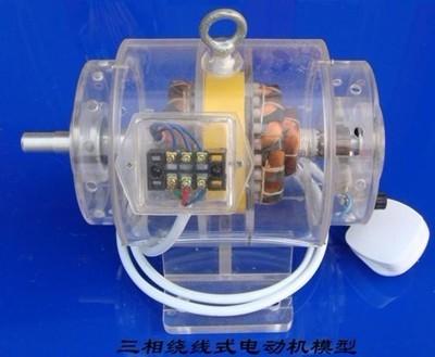 三相绕线异步电动机模型