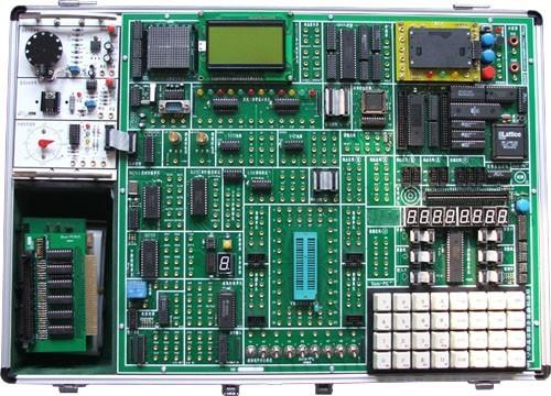 二, 51 单片机实验箱 实验项目:    软件实验:外部数据存储器