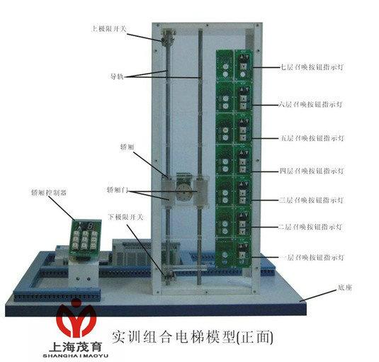 实训组合电梯模型