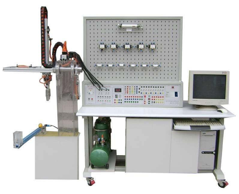 plc控制气压传动实验装置带机械手-上海茂育公司