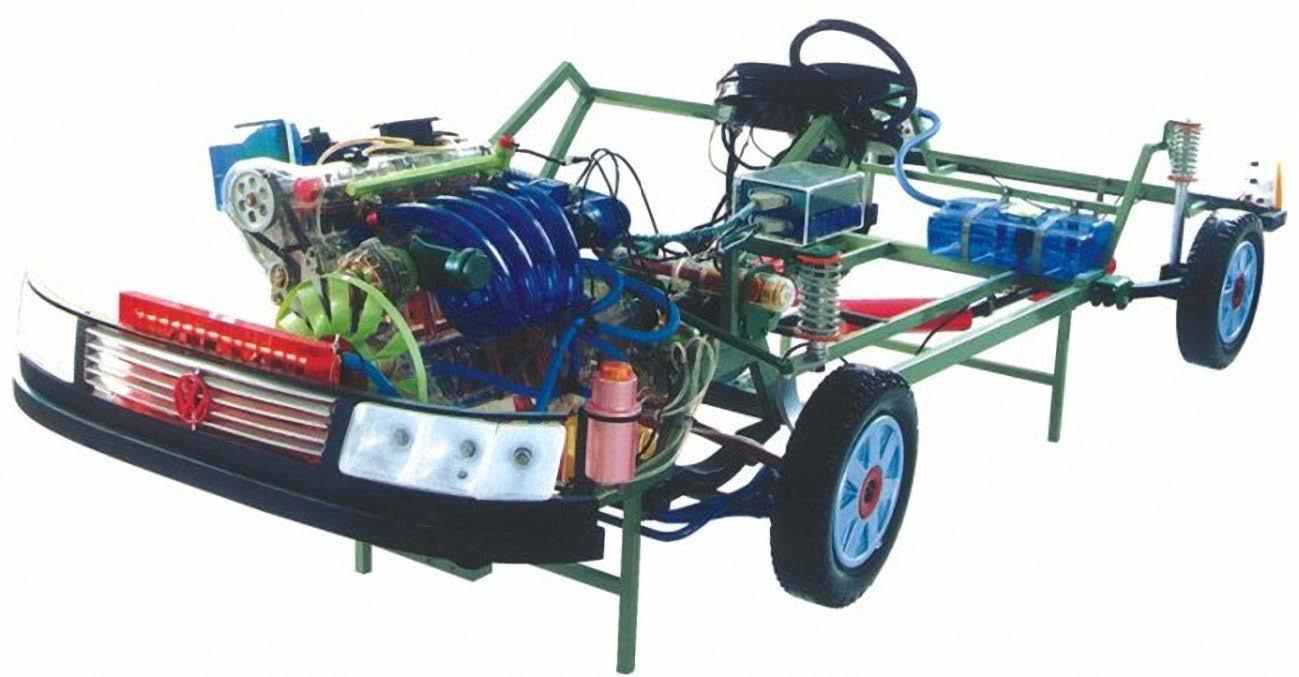 帕萨特b5轿车整车模型