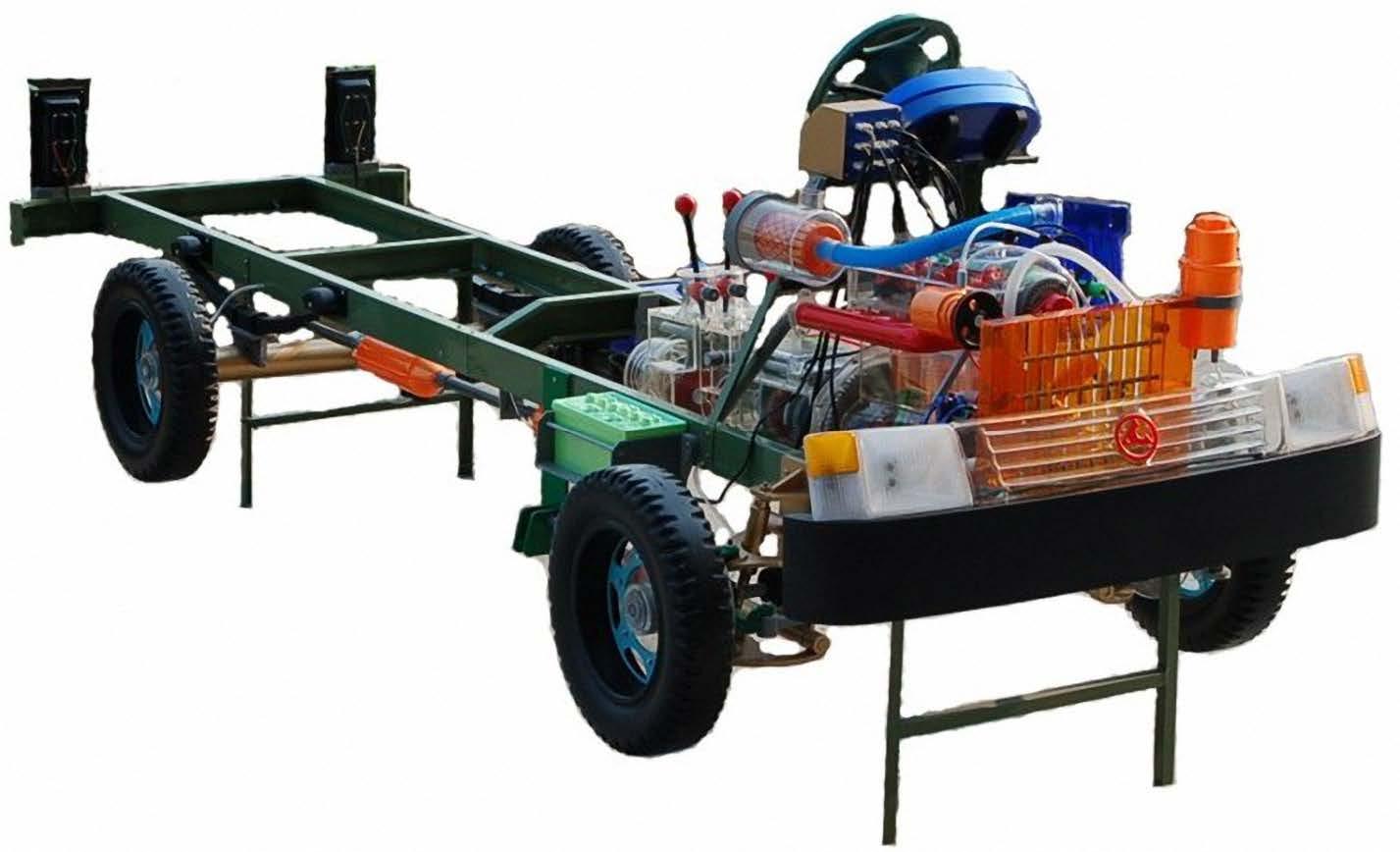 军用汽车教学模型