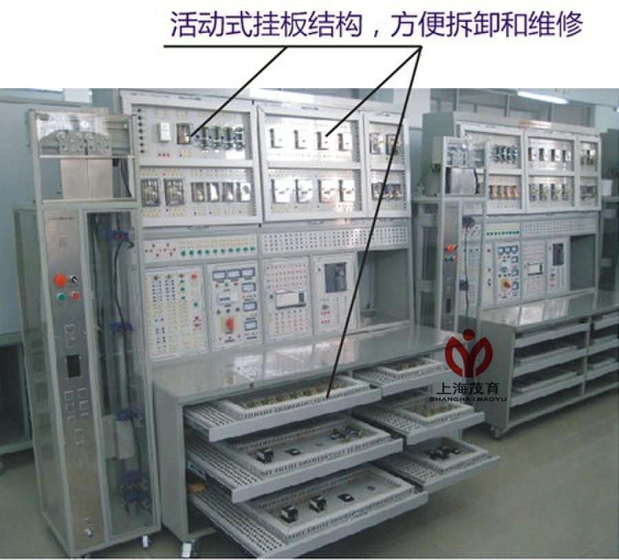 教学电梯电气线路
