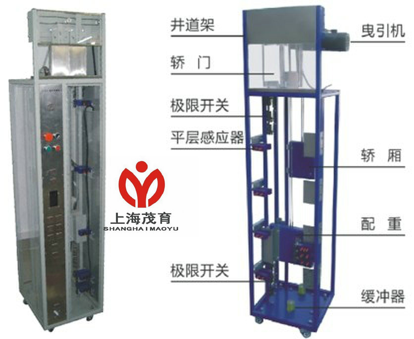电梯检修与慢车电路实训