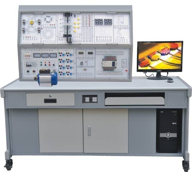 一、MY-27A 网络型PLC可编程控制器实验装置特点: 1、装置采用组件多结构 更换实验模块便捷,如需扩展功能或开发新实验,只需添加实验挂箱即可,永不淘汰。 2、双口接线法 PLC主机与实验挂箱之间的连接即可采用自锁紧接插线单线逐点连接,以提高动手动脑能力,加深了解PLC的结构功能,又可通过排线一次性连接,以提高实验连接速度,与单一连接法相比具有绝对优越性。 3、实验对象形像逼真,接近工业现场的实际应用,通过本实验装置的训练,学生很快就能适应现场的工作。 4、PLC主机采用三菱FX2N-48mR,功能更