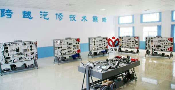 桑塔纳2000全车电路电器系统实验台-上海茂育公司