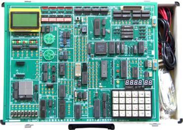 ( 3 )实验开放性:实验电路单元尽可能独立开放,如开放式键盘, 开放式
