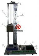 八层电梯模型
