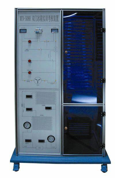 漏电电流超过一定值,即跳闸切断电源;设有热保护器件