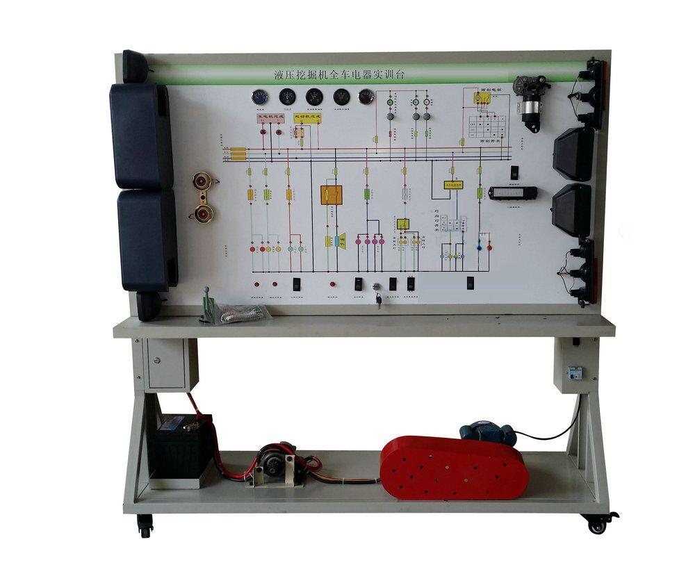 面板上安装有检测端子,可直接在面板上检测电器各系统电路元件的电信
