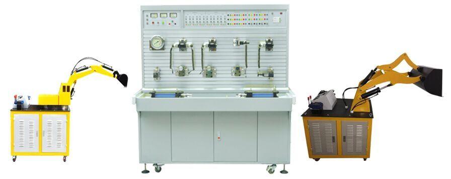 液压部件采用胶管连接, 液压元件采用工业液压元件;   7,泵站采用电机图片