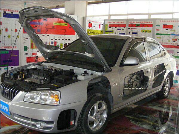 汽车整车解剖模型