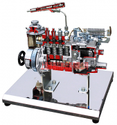 高压油泵解剖模型