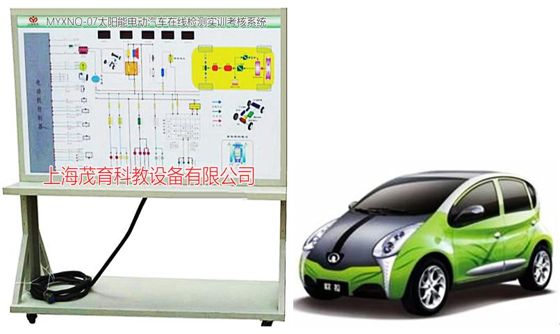 太阳能电动汽车在