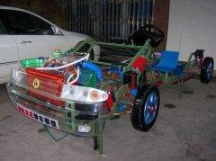 君威汽车透明模型