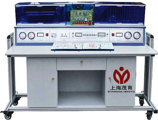 制冷制热实验台适合中等职业学校的制冷和空调设备运用与维修等专业的《制冷空调机器设备》《制冷空调装置的安装操作与维修》《制冷空调自动化》《空气调节技术与运用》等程的教学与实训。 二、MYKT-7A制冷制热实验台技术参数与功能: 1、工作电源 AC220V ± 10% , 50H 2 。 2、最大遥控距离 8m ,角度 90 度。 3、噪声:内机 37-44dB ,外机是 55-65dB 。 4、环境温度 -10 到 40 。 5、相对湿度≤ 85% ( 25 )。 6、输入功率< 1