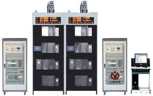 19,电梯电气控制柜:包含可编程控制器,变频器,低压电气(继电器
