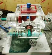 透明机械制图模型