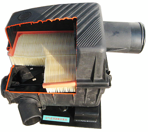 空气滤清器解剖模