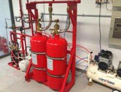 模拟气体灭火实训