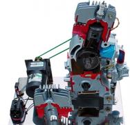 摩托车发动机解剖