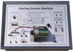 摩托车电起动系统