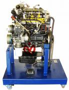 柴油发动机解剖模