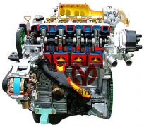 四缸电控汽油发动