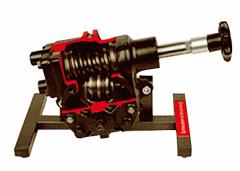 涡轮涡杆式转向器