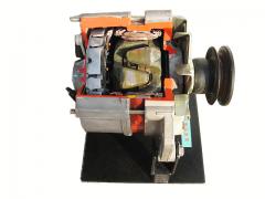 汽车发电机解剖模